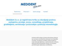 Slika naslovnice sjedišta: Medident (http://www.medident.hr)
