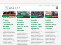 Frontpage screenshot for site: Enikon d.d. (http://www.enikon.com/)