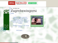 Frontpage screenshot for site: Tridesete (http://zagrebswingers.tripod.com/)