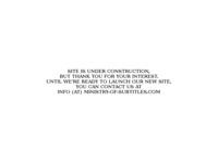 Frontpage screenshot for site: Ministarstvo titlova (http://www.ministarstvo-titlova.com)