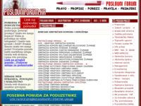 Slika naslovnice sjedišta: Adresar obrtničkih komora i udruženja (http://www.poslovniforum.hr/obrtadresar.asp)