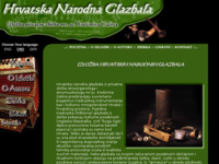 Frontpage screenshot for site: Hrvatska narodna glazbala (http://www.hrvatska-narodna-glazbala.com/)