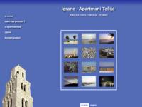 Frontpage screenshot for site: Igrane - Apartmani Ivan Stipin (http://www.inet.hr/igrane/hrvatski/home.htm)