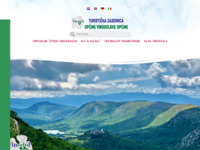 Slika naslovnice sjedišta: TZ vinodol - korak od mora dva od sniga (http://www.tz-vinodol.hr/)