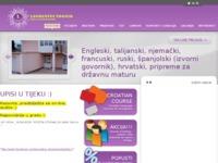 Frontpage screenshot for site: Škola stranih jezika Laureatus - Trogir (http://www.laureatus-trogir.hr/)
