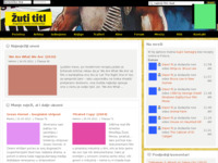 Frontpage screenshot for site: Žuti Titl - filmski portal (http://www.zuti-titl.com/)