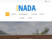Frontpage screenshot for site: Villa Nada Duće (http://www.villa-nada.net/)