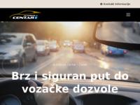 Slika naslovnice sjedišta: Autoškola Centar (http://www.autoskola-centar.hr/)