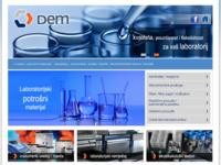 Slika naslovnice sjedišta: Dem d.o.o. (http://www.dem.hr/)