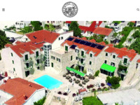 Frontpage screenshot for site: Hotel Ivan, Bol, otok Brač (http://www.hotel-ivan.com)