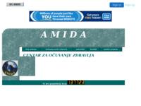 Slika naslovnice sjedišta: Amida - centar za očuvanje zdravlja (http://www.zdravlje-amida.20m.com)