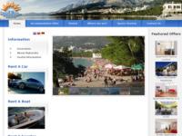 Frontpage screenshot for site: Turist Biro - Makarska (http://www.turistbiro-makarska.com/)