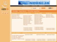 Frontpage screenshot for site: Novalja by Linkovi.net - Svi linkovi o Novalji (http://www.linkovi.net/novalja.html)