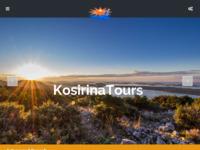Frontpage screenshot for site: Turistička agencija Kosirina (http://www.kosirinatours.hr/)