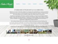 Frontpage screenshot for site: Sobe Mrak Bjelovar (http://www.sobemrak.hr)