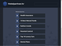 Frontpage screenshot for site: Hotel Partner (http://www.hotelpartner.hr/)