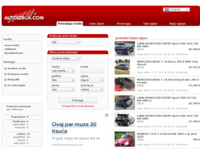 Slika naslovnice sjedišta: Auto izbor (http://www.autoizbor.com/)
