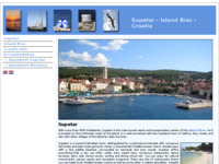 Frontpage screenshot for site: Supetar - otok Brač (http://www.supetar-brac-croatia.com/)
