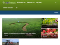 Slika naslovnice sjedišta: Poljoprivredni poslovni portal, baza poljoprivrednih gospodarstava (http://www.agroburza.hr)