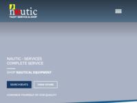 Frontpage screenshot for site: Nautic Zadar (http://www.nautic-zd.hr/)