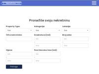 Frontpage screenshot for site: Nekretnine Osijek (http://www.nekretnineosijek.com)