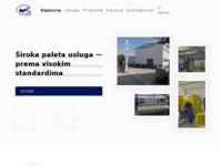 Frontpage screenshot for site: Kovinoelektra (http://www.kovinoelektra.hr/)