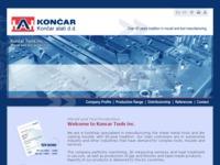 Frontpage screenshot for site: Končar alati d.d. - proizvodnja alata (http://www.koncar-alati.hr)