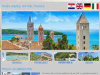 Frontpage screenshot for site: Apartmani na moru, otok Rab (http://otokrab.biz/)
