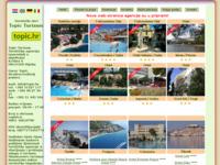 Frontpage screenshot for site: Turistička agencija Topic turizam (http://www.topic.hr)