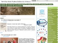 Slika naslovnice sjedišta: Tehnička škola Ruđera Boškovića Vinkovci (http://www.tsvk.hr)