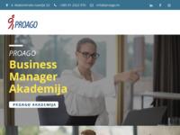 Slika naslovnice sjedišta: Proago - analiza i razvoj ljudskih resursa (http://www.proago.hr)