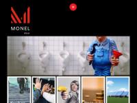 Frontpage screenshot for site: Monel upravljanje nekretninama, građevinarstvo i marketing (http://www.monel.hr)