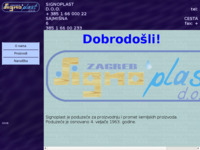 Slika naslovnice sjedišta: Signoplast d.o.o. za kemijsku proizvodnju (http://www.signoplast.hr)