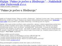 Slika naslovnice sjedišta: Alat Dubrovnik d.o.o. (http://www.alat.hr)