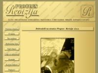 Slika naslovnice sjedišta: Progres–revizija d.o.o. (http://www.progres-revizija.hr)