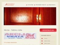 Slika naslovnice sjedišta: Stolarija Andrašek (http://www.prozori-vrata-andrasek.hr)