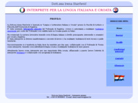 Frontpage screenshot for site: prof. Irena Starčević (http://www.inet.hr/~irstarce/)