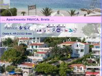 Frontpage screenshot for site: Apartmani Šošić - Doko (http://www.brela.com/doko/)