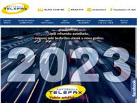 Slika naslovnice sjedišta: Autoškola Telefax d.o.o., Split (http://www.telefax.hr/)