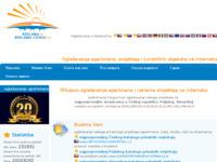 Frontpage screenshot for site: Apartmani u Hrvatskoj - Promocija u Češkoj (http://www.reklamauceskoj.cz)