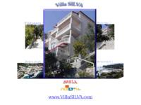 Frontpage screenshot for site: Apartments Silva, Brela (http://www.dalmatia-channel-of-brac.com/ivanac_index.htm)