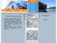 Frontpage screenshot for site: Ilija Karjaković (http://free-os.htnet.hr/Ilija_Karjakovic)