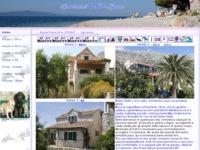 Frontpage screenshot for site: Apartmani Perić, Igrane (http://www.igrane.com/peric/)