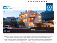 Frontpage screenshot for site: Vila Borić -  Tučepi (http://www.villaboric.com)