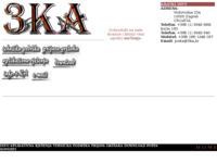 Slika naslovnice sjedišta: 3Ka - Aplikativno rjesenje (http://www.3ka.hr/)