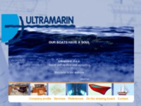 Frontpage screenshot for site: Konzalting i inžinjering u brodogradnji (http://www.ultramarin-doo.hr)