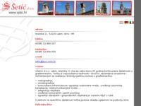 Frontpage screenshot for site: Šetić (http://www.setic.hr/)