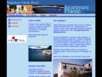 Frontpage screenshot for site: (http://free-os.htnet.hr/apartmani/)