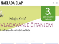 Slika naslovnice sjedišta: Naklada Slap (http://www.nakladaslap.com/)