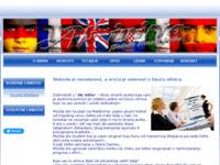 Frontpage screenshot for site: Poduke stranih jezika (http://www.abinitio.hr)
